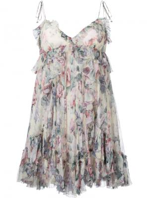 Floral print cami dress Zimmermann. Цвет: многоцветный