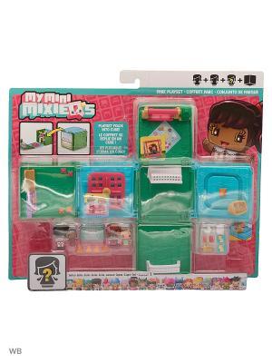Мини-игровой набор My Mini MixieQ Mattel. Цвет: голубой, зеленый, прозрачный, розовый