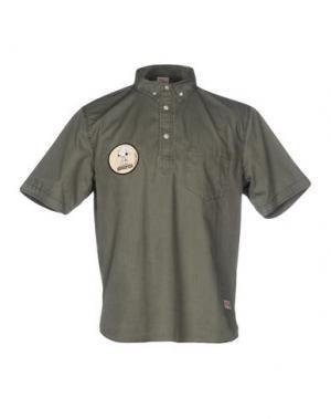 Pубашка TSPTR. Цвет: зеленый-милитари