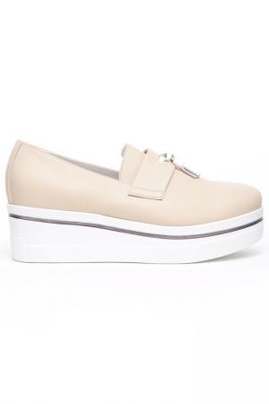 Ботинки Bouton. Цвет: кремовый