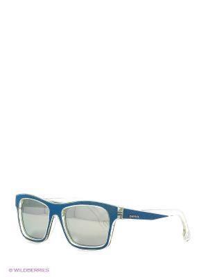 Солнцезащитные очки DL 0071 86С Diesel. Цвет: голубой