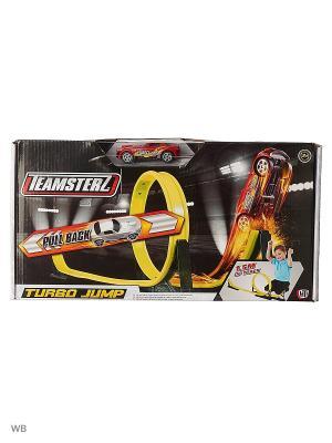 Трек турбо прыжок Teamsterz Smart HTI. Цвет: черный, желтый, оранжевый, светло-желтый
