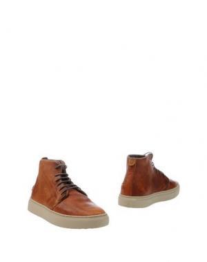Полусапоги и высокие ботинки SATORISAN. Цвет: желто-коричневый