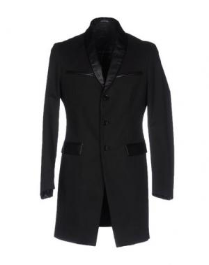 Легкое пальто BAD SPIRIT. Цвет: черный