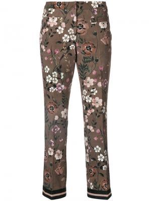 Cropped pants Cambio. Цвет: коричневый