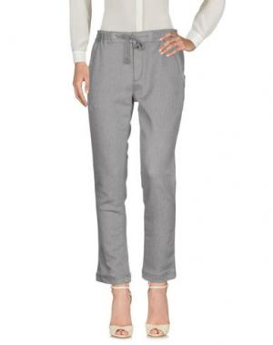 Повседневные брюки WHITE MOUNTAINEERING. Цвет: серый