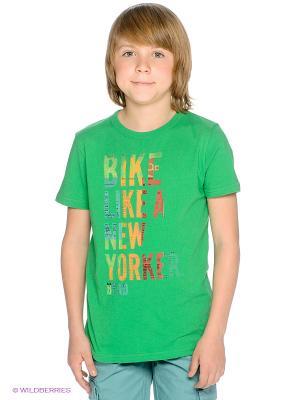 Футболка American Outfitters. Цвет: зеленый