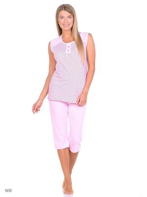 Капри с майкой (комплект одежды) Magwear. Цвет: розовый
