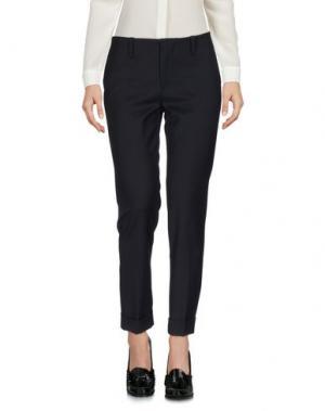 Повседневные брюки VIRNA DRÒ®. Цвет: темно-синий