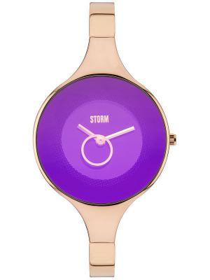 Часы STORM OLA RG-PURPLE 47272/P Storm.. Цвет: малиновый, золотистый