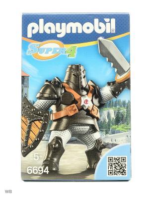 Супер4: Черный Колосс Playmobil. Цвет: серый
