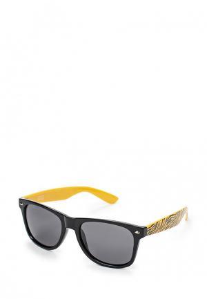 Очки солнцезащитные d-Struct. Цвет: черный