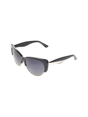 Солнцезащитные очки Gusachi. Цвет: черный, золотистый