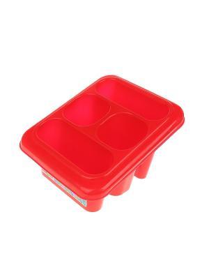 Сушилка для столовых приборов Migura. Цвет: красный