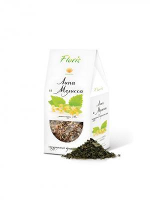 Floris Натуральный крымский чай липа и мелисса, 30 гр. Цвет: белый
