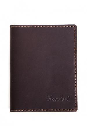 Визитница Handsel. Цвет: коричневый