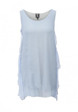 Платье Tricot Chic. Цвет: голубой