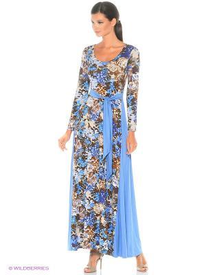 Длинное платье Остров Капри ANASTASIA PETROVA