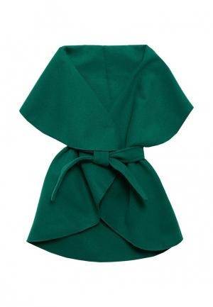 Пончо Magwear. Цвет: зеленый
