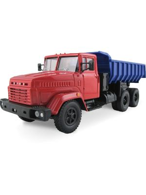 Машина KRAZ-6510 гражданского назначения AUTOTIME. Цвет: красный