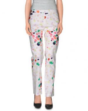 Повседневные брюки GALITZINE. Цвет: белый