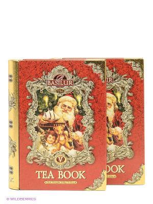 Набор Чайная книга.Том 5, 100 г, 2 шт. Basilur. Цвет: красный, золотистый