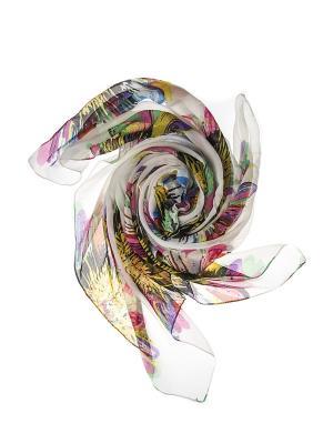 Платок Migura. Цвет: белый, голубой, желтый, зеленый, розовый