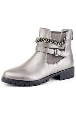 Ботинки Norka. Цвет: серый