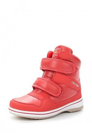 Ботинки Strobbs. Цвет: коралловый