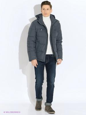 Куртка VIVACANA. Цвет: серый