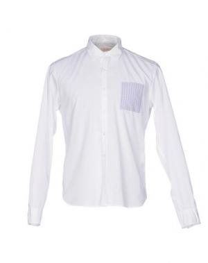 Pубашка D.R SHIRT. Цвет: белый
