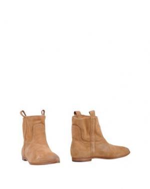 Полусапоги и высокие ботинки SMITH'S AMERICAN. Цвет: верблюжий