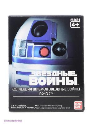 Star Wars ШЛЕМ на подставке R2-D2 6,5см Bandai. Цвет: черный