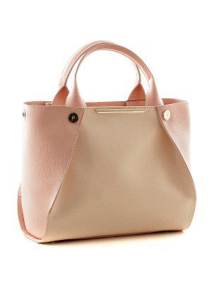 Сумка Fiato. Цвет: бледно-розовый, персиковый, кремовый