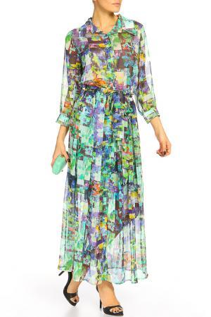 Платье MoNaMod. Цвет: мультиколор