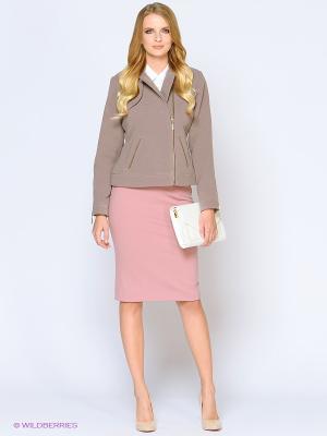 Куртка Stets. Цвет: коричневый