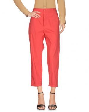 Повседневные брюки VIRNA DRÒ®. Цвет: красный