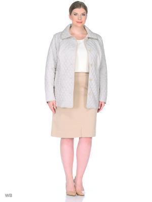 Куртка Modress. Цвет: светло-серый