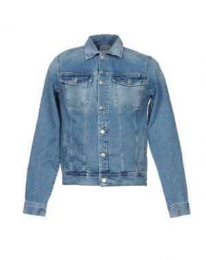 Джинсовая верхняя одежда X-CAPE. Цвет: синий