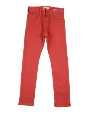 Джинсовые брюки SCOTCH & SHRUNK. Цвет: красный