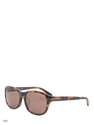 Солнцезащитные очки FT 0396-F 52J Tom Ford. Цвет: коричневый, серый
