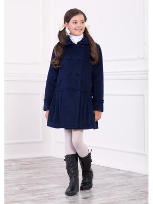 Пальто Baby Steen. Цвет: темно-синий