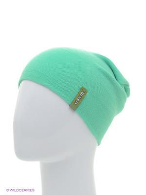 Шапка ELFRIO. Цвет: зеленый