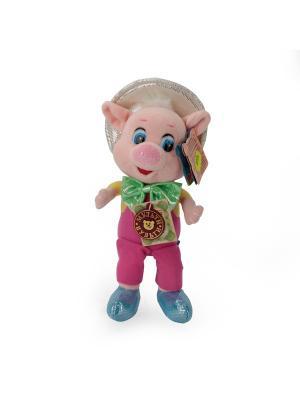 Мягкая игрушка Мульти-Пульти Фунтик 18 см, озвученный.. Цвет: розовый, белый