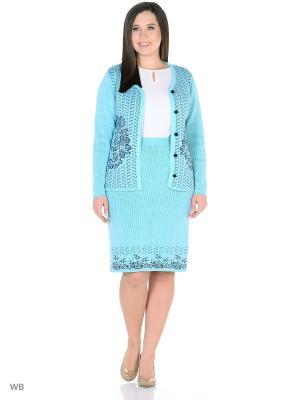Костюм, модель Кира Dorothy's Нome. Цвет: синий, бирюзовый