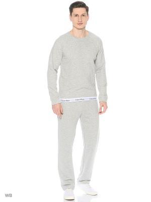 Брюки Calvin Klein. Цвет: серый