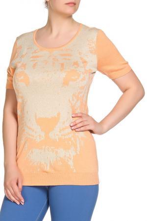 Пуловер SARAH KERN. Цвет: абрикос