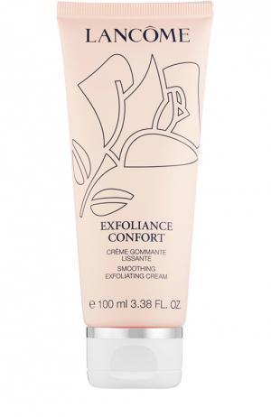 Смягчающий отшелушивающий крем Exfoliance Confort Lancome. Цвет: бесцветный