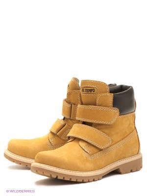 Ботинки на байке El Tempo. Цвет: светло-бежевый