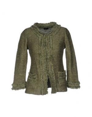 Пиджак CHARLOTT. Цвет: зеленый-милитари